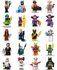The Lego Batman Movie Series 2 Complete Collection 20 Lego Minifigures Display Frames For Lego Minifigures