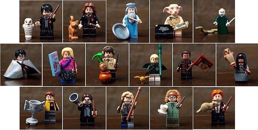Harry Potter And Fantastic Beasts Series 1 Complete
