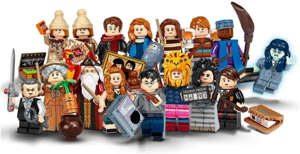Brickohaulic Display Frame for Lego Harry Potter Series 2 Minifigures 71028