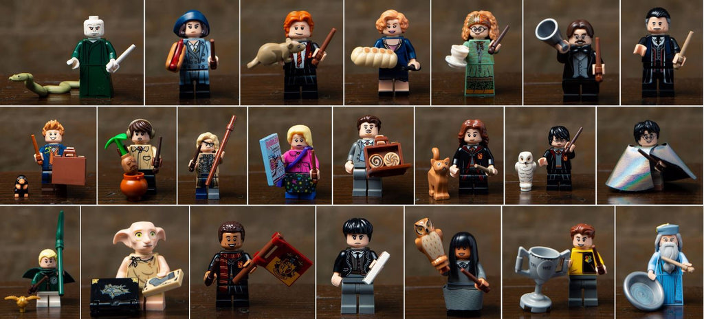 Harry Potter and Fantastic Beasts Series 1 Complete Collection 22 LEGO Minifigures 71022