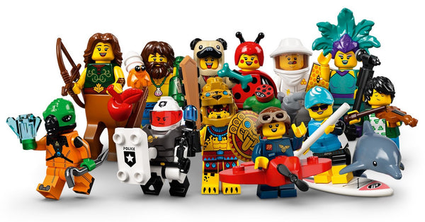 Series 21 Complete Collection 12 LEGO Minifigures 71029