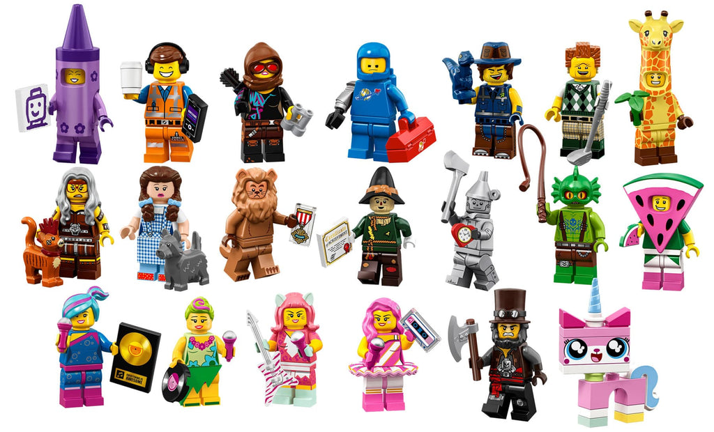 The LEGO Movie Series 2 Complete Collection 20 LEGO Minifigures 71023