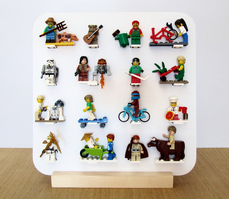 Lego Minifigures Display Frame  Lego Minifigures