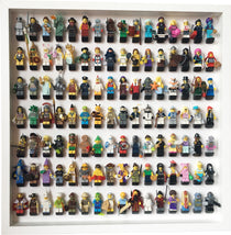 112 Lego Minifigures collector edition frame display