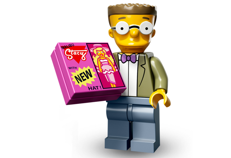 Smithers – The Simpsons Series 2 LEGO Minifigure