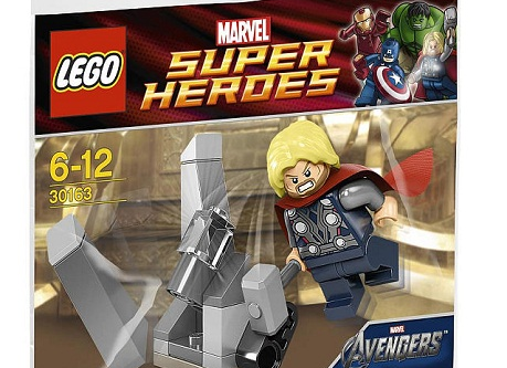 Lego Thor and the Cosmic cube - 30163 Polybag