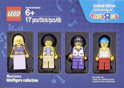 LEGO Musicians Minifigures Collection 5004421 Toys R Us Exclusive