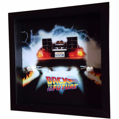 Frame for Lego® Back to the Future Minifigures - 21103 set Special edition