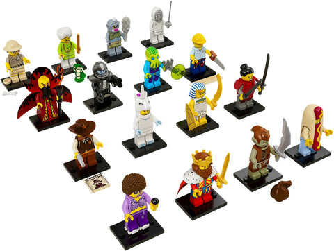 Series 13 Complete Collection 16 LEGO Minifigures 71008