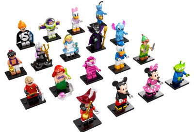 Disney Pixar Series 1 Complete Collection 18 LEGO Minifigures 71012