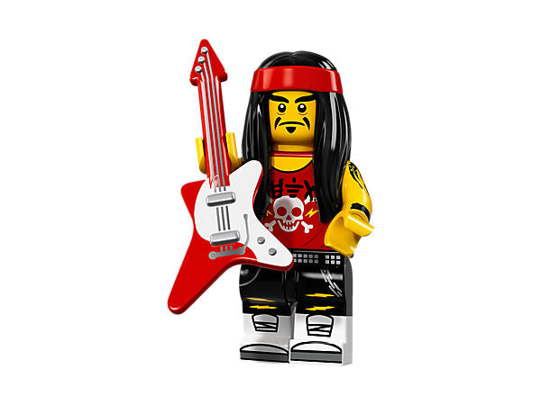 Gong and Guitar Rocker – The LEGO NINJAGO Movie LEGO Minifigure