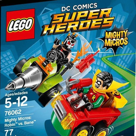 Lego Mighty Micros: Robin vs. Bane - 76062