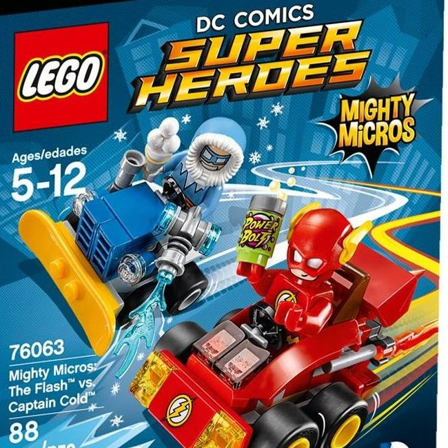 Lego Mighty Micros He Flash Vs Captain Cold 76063 Display Frames For Lego Minifigures