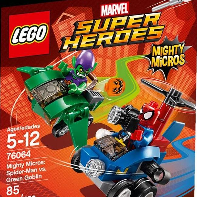 Lego Mighty Micros: Spider-Man vs. Green Goblin - 76064