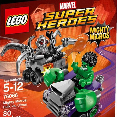Lego Mighty Micros: Hulk vs. Ultron - 76066