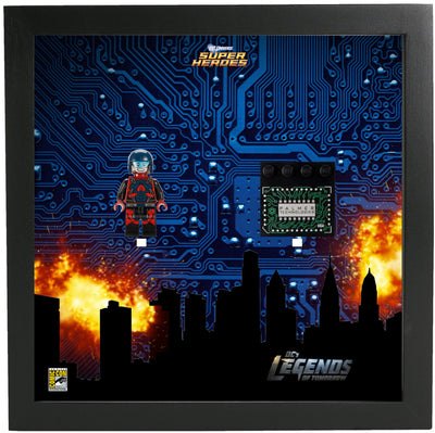 Frame for Lego® Ray Palmer Atom Super Heroes Minifigures - Comic Con Special edition