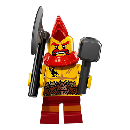 Battle Dwarf – Series 17 Lego Minifigure