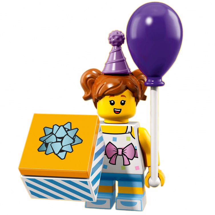 Birthday Party Girl – Series 18 Lego Minifigure
