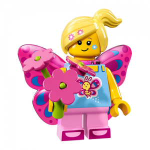 Butterfly Girl – Series 17 Lego Minifigure