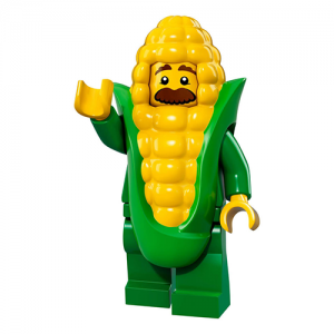 Corn Cob Guy – Series 17 Lego Minifigure