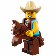 Cowboy Costume Guy – Series 18 Lego Minifigure