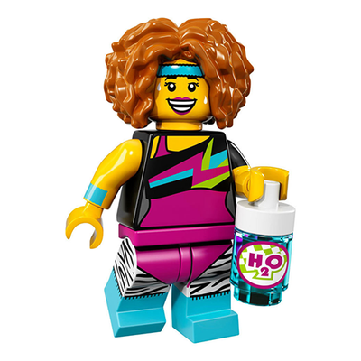 Dance Instructor – Series 17 Lego Minifigure
