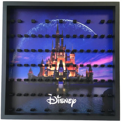 Disney Castle Large Display Frame for Lego Minifigures