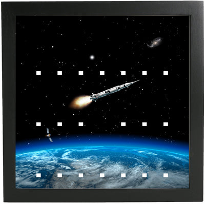 Earth Frame for Lego Space Minifigures