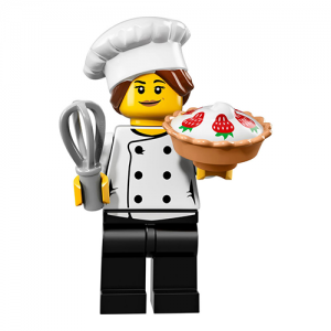 Gourmet Chef – Series 17 Lego Minifigure