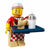 Hot Dog Man – Series 17 Lego Minifigure