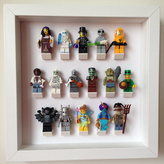 Lego Minifigures Display Frame Custom small  for Lego Minifigures