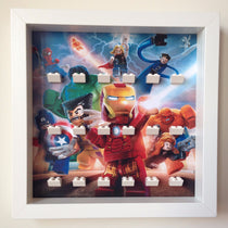 Frame for Lego® Marvel Super Heroes Minifigures