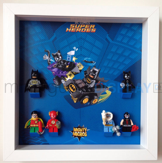 Lego Minifigures Display Frame  for Lego Mighty Micros (DC Super H...