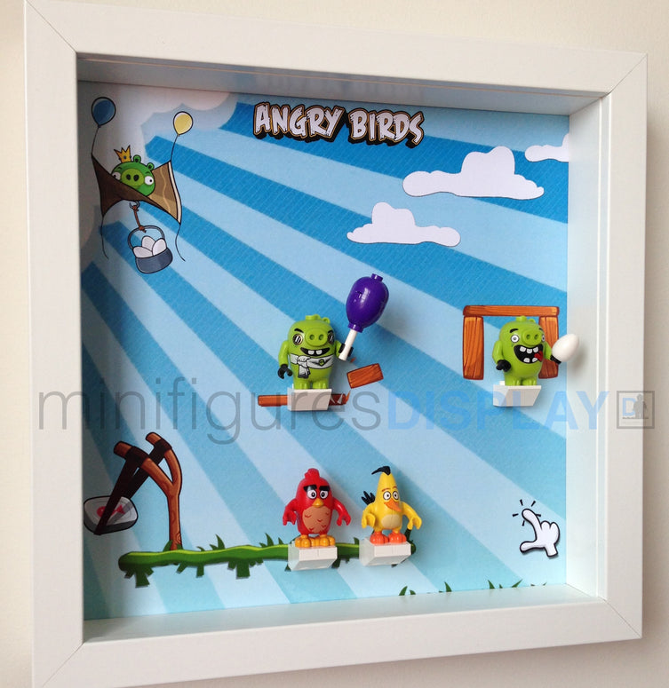 Lego Minifigures Display Frame  for Lego Angry Birds Minifigures (...