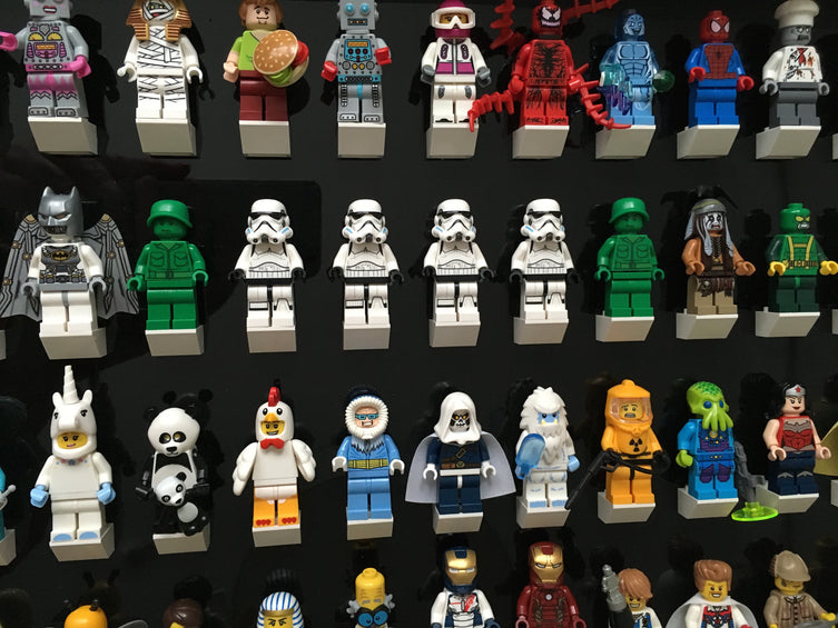 Lego Minifigures Display Frame Collector Edition  for 112 Lego Min...