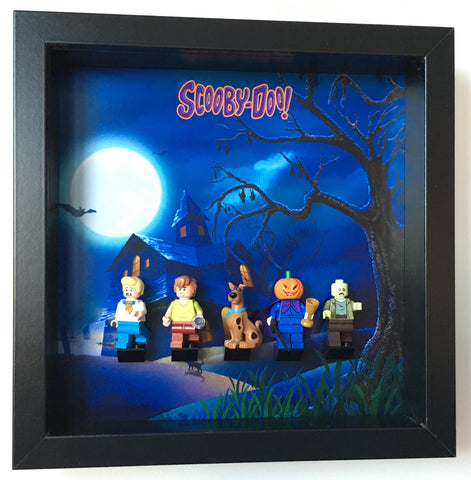 Lego Scooby Doo minifigures frame