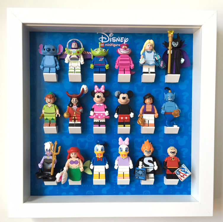 Lego Minifigures Display Frame  Lego Disney Series 1 Minifigures