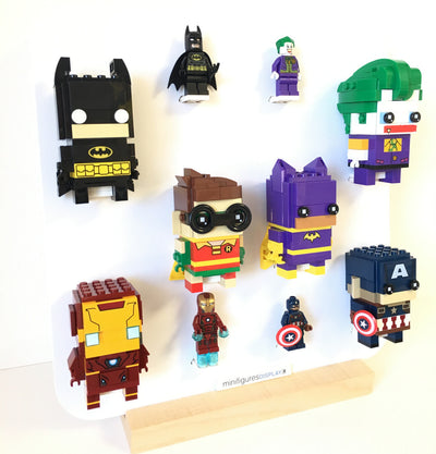 Display for Lego BrickHeadz Minifigures