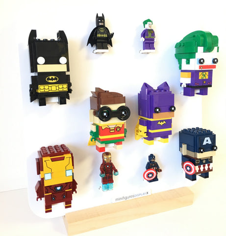 Lego BrickHeadz Display minifigures frame