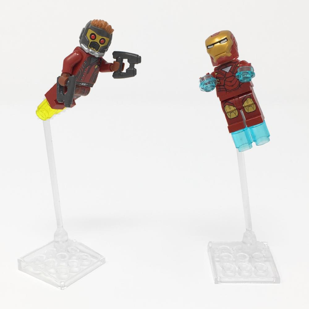 Minifigure Flying Bracket MFB-TA31 – Display Frames for Lego Minifigures