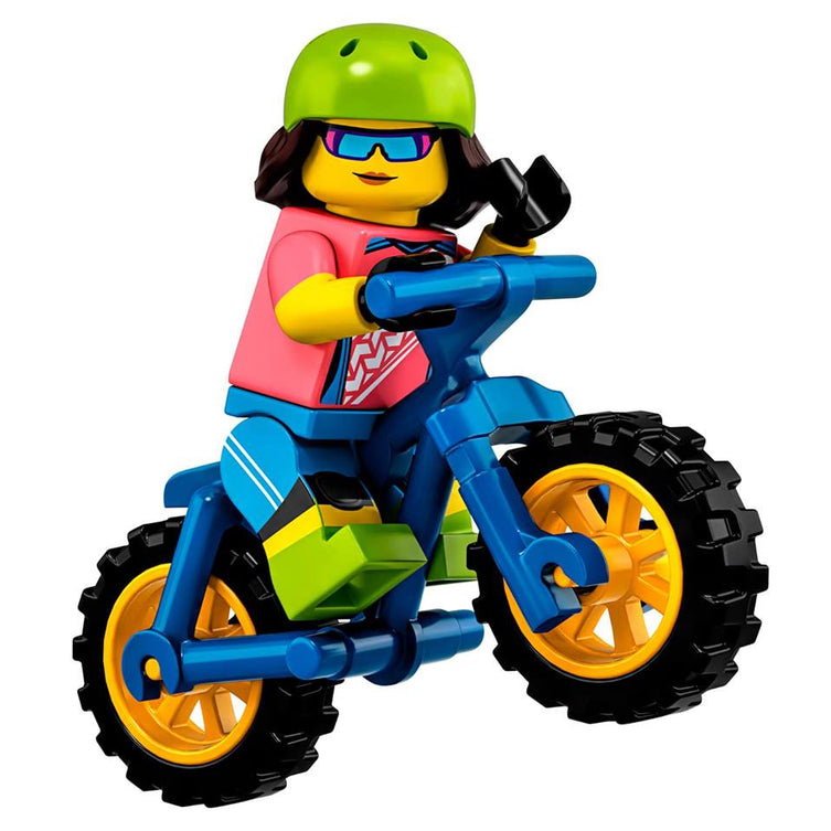 Mountain Biker – Series 19 Lego Minifigure