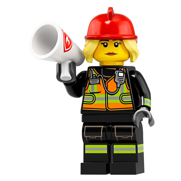 Fire Fighter – Series 19 Lego Minifigure