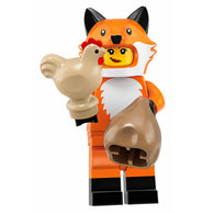 Fox Costume Girl – Series 19 Lego Minifigure
