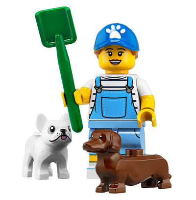Dog Sitter – Series 19 Lego Minifigure