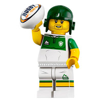Rugby Player – Series 19 Lego Minifigure