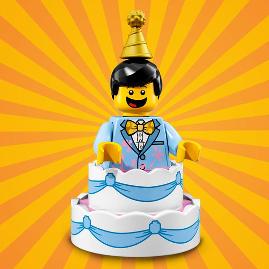Birthday Cake Guy – Series 18 Lego Minifigure