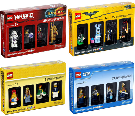 LEGO FULL Minifigures Collection Toys R Us 5004941 5004940 5004939 5004938