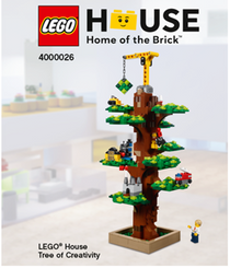 Lego 4000026 Lego House Tree of Creativity Exclusive