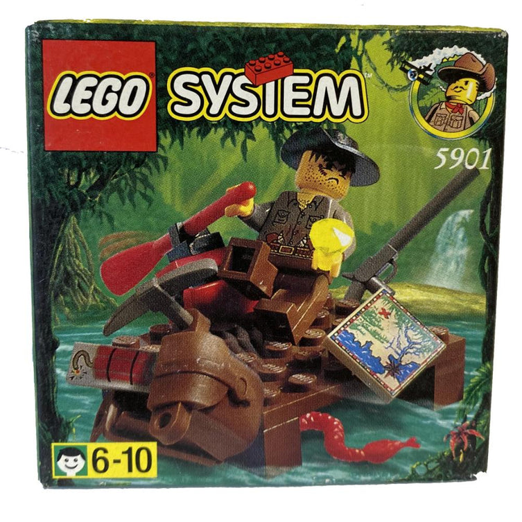 Lego 5901 River Raft - Johnny Thunder