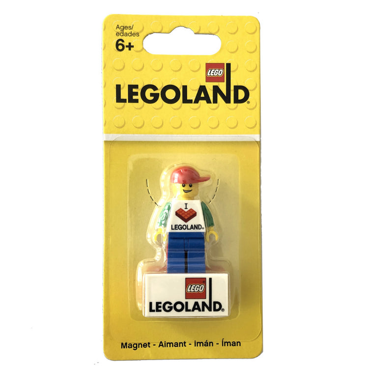 Lego 850457 Legoland Magnet Boy Exclusive